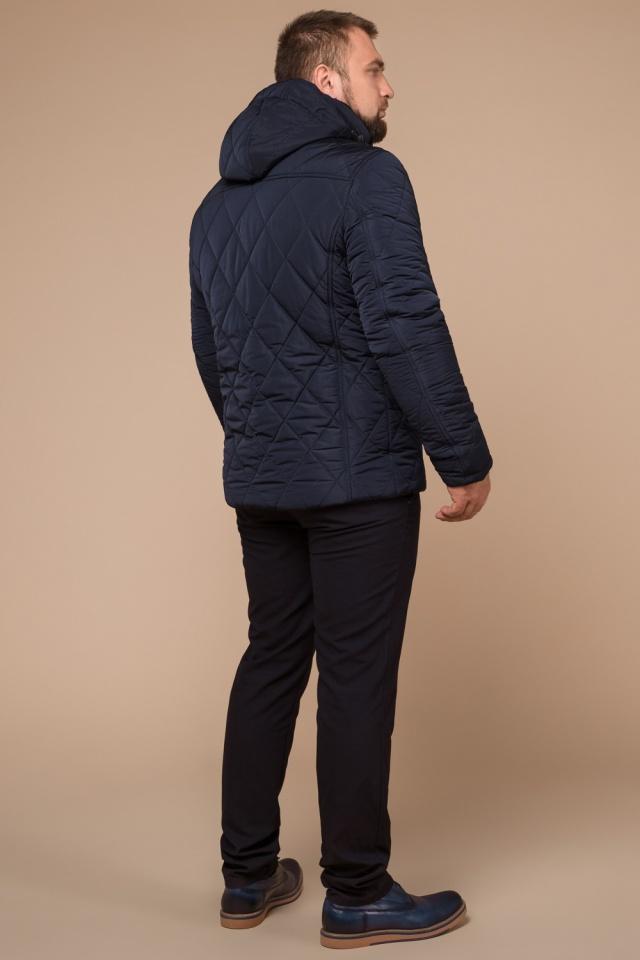"Синя практична чоловіча куртка на зиму модель 19121 Braggart ""Dress Code"" фото 5"