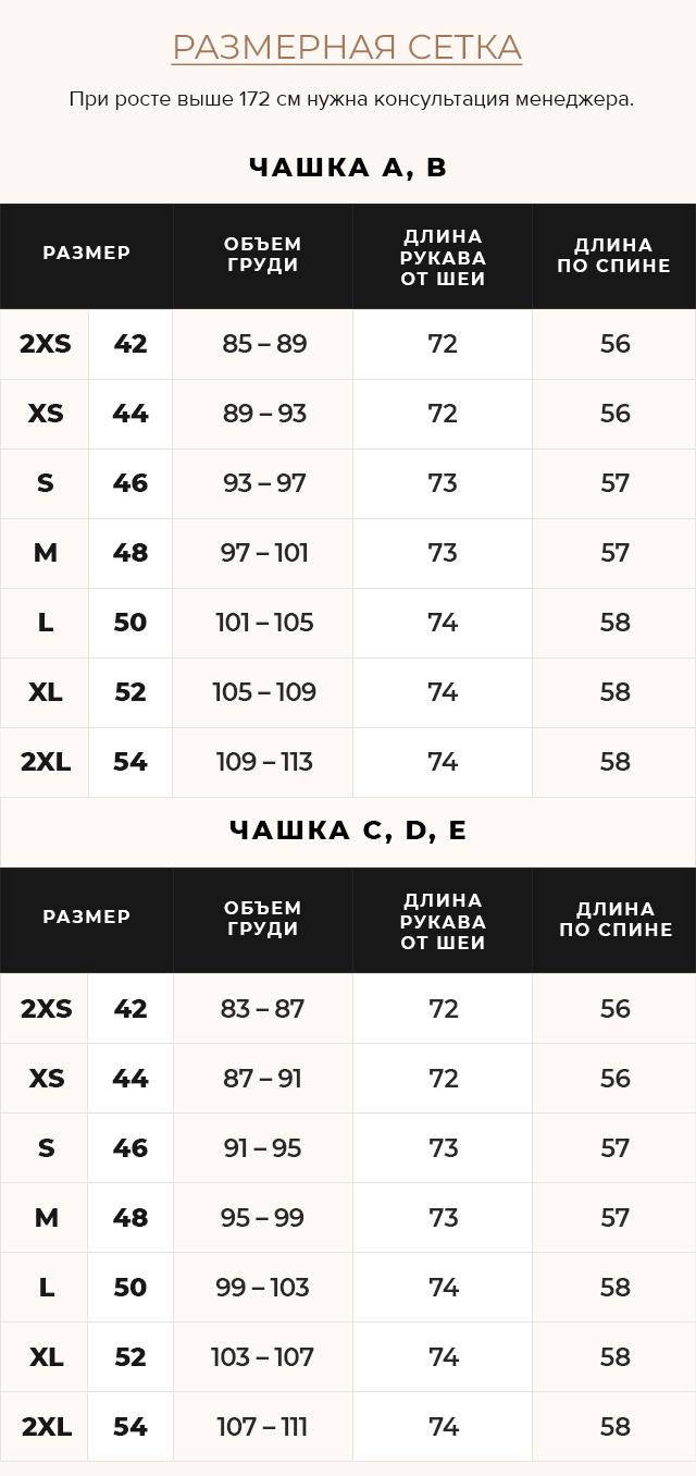 Таблица размеров Трендовая изумрудная осенне-весенняя куртка женская модель 40267