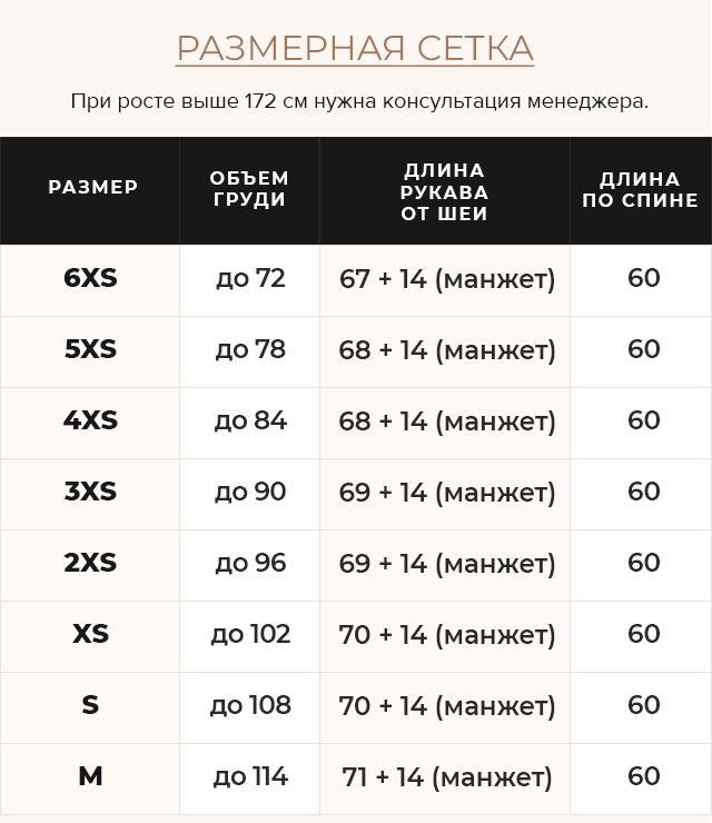 Таблица размеров Комфортная куртка на девочку осень темно-синяя модель 26420