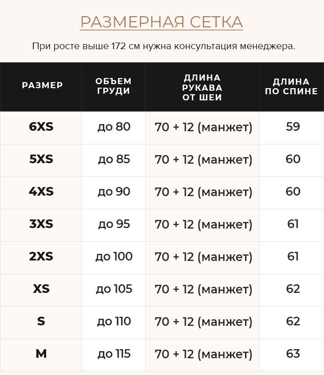 Таблица размеров Рубиновая стильная куртка на девочку осень модель 26370